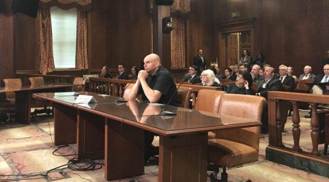 Fetterman reports high support for cannabis legalization, decriminalization