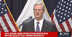 massachusetts governor baker vape sales